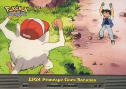 Trading Card Pokemon TV Animation Edition : EP24 Primeape Goes Bananas - Pokemon