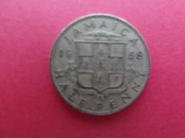 Jamaique  1/2  Penny  1958  Km 36 - Jamaica