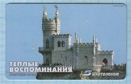 UKRAINE / DONETSK  / Phonecard Ukrtelecom / Phone Card / Good Memories Yalta.  Bird Home. Architecture. 07/03 - Oekraïne