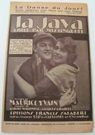 Partition La Java Mistinguett Willemetz M.Yvain EAS2371bis 1922 Jacques Charles - Musique & Instruments