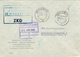 AFS VEB Technische Hochschule Für Chemie Carl Schorlemmer 1965 ZKD Merseburg Nach Lichtenberg (rsA) - Medizin
