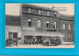 WESTMALLE-MALLE : HOELEN-HOTEL DE KROON-MET VOLK - Malle