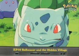 Trading Card Pokemon TV Animation Edition : EP10 Bulbasaur And The Hidden Village - Pokemon
