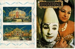 BOUGLIONE 20 Pages.Avec G.LOLLOBRIGIDA-TINO ROSSI-Annie CORDI-BOURVIL-J. GRECO- Dany ROBIN  Etc + Autographes - Programmes
