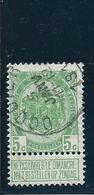 OCB 83 - Afstempeling OCQUIER - COBA 8 - 1893-1907 Wappen