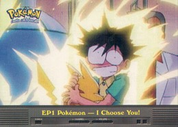 Trading Card Pokemon TV Animation Edition : EP1 Pokémon I Choose You ! - Pokemon