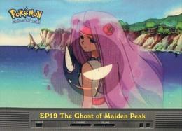 Trading Card Pokemon TV Animation Edition : EP19 The Ghost Of Maiden Peak - Pokemon