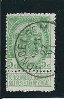 OCB 83 - Afstempeling WONDELGHEM - COBA 15 - 1893-1907 Wappen