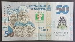 RS - Nigeria 50 Naira Banknote 2010 #MW2461385 Polymer - Nigeria