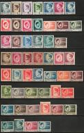 Romania 1945 1946, Scott 568-87 And 610-24, MNH White And Gray Paper, Michael / Mihai - 1948-.... Républiques
