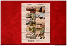 Kunst Landschappen; NVPH V2089-2098 2089 (Mi 2013-2022); 2002 POSTFRIS / MNH ** NEDERLAND / NIEDERLANDE / NETHERLANDS - Unused Stamps