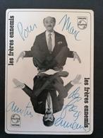 Les Frères Ennemis. Autographe Originale. - Entertainers