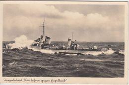 Deutsches Reich - Kriegsmarine Torpedoboot Sw-Fotokarte Feldpost 14059 1940 N. - Deutschland