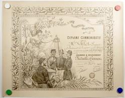 Livre D'or Des Sapeurs-Pompiers.diplôme Commémoratif.courage & Dévouement.médaille D'honneur Du 1er Décembre 1907. - Pompiers