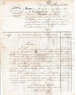 1858 DUNKERQUE - A. VANLEMBROUCK Fils, Commissionnaires à M. SOSSON à CAEN - Documents Historiques
