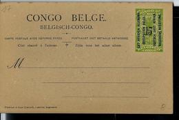 Occ. Belge; Carte Neuve N° 17  (carte Double ) - Entiers Postaux