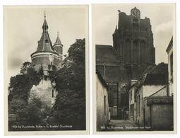 2x Wijk Bij Duurstede Stadstoren Met Kerk + Ruine V. H. Kasteel Utrecht - Wijk Bij Duurstede