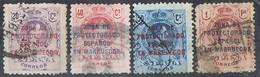 Sellos Varios  MARRUECOS Español  1921. Edifil Num 75-76-77-78 º - Spanish Morocco