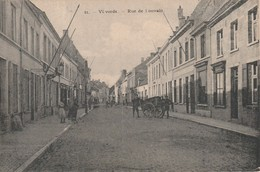 Vilvorde ; Vilvoorde   : La Rue De Louvain  ,(  H. Bertels , N° 21 ) - Vilvoorde
