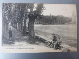 Lozère, Le Malzieu, La Promenade Du Foirail. - Altri Comuni