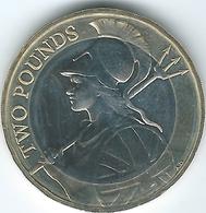 United Kingdom / Great Britain - 2015 - 2 Pounds - Elizabeth II - 5th Portrait - Britannia - 1971-… : Monete Decimali