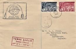 TAAF Terre Adelie 15 Janvier 1958 Année Géophysique - Cachet Station Charcot - Lettres & Documents