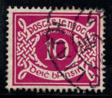 Irlande 1940 Mi. 13 Oblitéré 100% Timbre-taxe 10 Pg - Postage Due