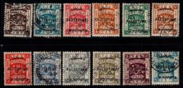 Palestine 1922 Oblitéré 100% Surimprimé - Palestine