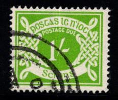 Irlande 1940 Mi. 14 YI Oblitéré 100% Timbre-taxe 1 Sc - Postage Due