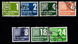 Irlande 1980 Mi. 25-31 Oblitéré 100% Timbre-taxe Chiffres - Postage Due