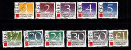 Irlande 1988 Mi. 35-45 Oblitéré 100% Timbre-taxe Chiffres - Postage Due