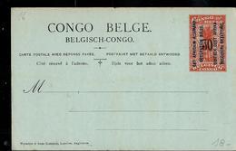 Occ. Belge; Carte Neuve N° 16 - Entiers Postaux