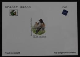 NA38 'Buzin: Boerenzwaluw / Hirondelle Rustique' - Zeer Mooi ! - Projets Non Adoptés