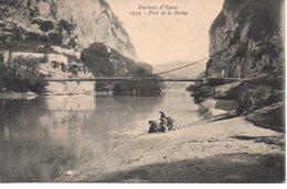 Savoie : Yenne : Lavandières Au Pont De La Balme - Yenne
