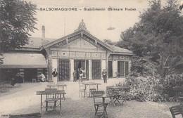 SALSOMAGGIORE-PARMA-STABILIMENTO BALNEARE NUOVO-CARTOLINA NON VIAGGIATA -ANNO 1915-1925 - Parma