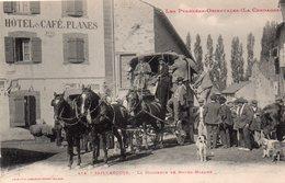 CPA De SAILLAGOUSE - La Diligence De Bourg-Madame. - Francia