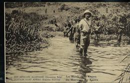 Occ. Belge; Carte Illustrée Obl.  1918 N° 12. Vue: 37 - Les Marais De La Kagera - Entiers Postaux