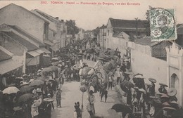 Viet Nam - HANOI - Promenade Du Dragon , Rue Des Eventails - Viêt-Nam