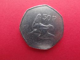 Irlande  50 Pence 1981  Km 24 - Ierland