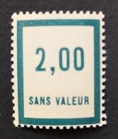 France Fictif N° F52 N** Luxe Gomme D'origine, TTB. Cote 2020 : 2,00 E - Fictifs