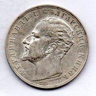 BULGARIA, 5 Leva, Silver, Year 1894, KM #18 - Bulgarien