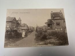 La Panne Avenue Des Pêcheurs 1915 - De Panne