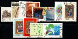 Irlande 1989-90 Oblitéré 100% Noel, Nations Unies - 1949-... République D'Irlande