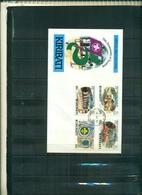 KIRIBATI 75 SCOUTS 4 VAL SUR F.D.C. A PARTIR DE 0.60 EUROS - Kiribati (1979-...)