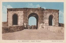 Carte Postale. Maroc. Mogador. Bastion Portugais. Edition La Civette. - Monumentos