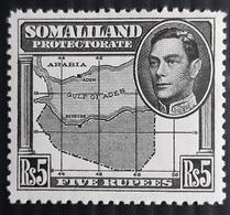 Somaliland Protectorate, 1938, SG Nr 104, MH/** - Somaliland (Protectorate ...-1959)