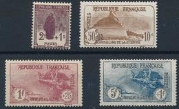 """DM-57: FRANCE: Lot """"ORPHELINS"""" N°229/232**GNO - France"""