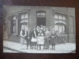 LAMBERSART-   Carte Photo  Café MORY-DELOR - Lambersart
