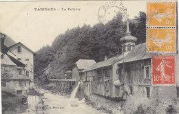TANINGES:  RARE CLICHE DE LA SCIERIE.1921.BON ETAT .PETIT PRIX.A SAISIR - Taninges
