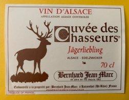 14214 - Alsace Cuvée Des Chasseurs Jägerliebling Edelzwicker - Jacht